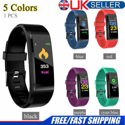 ID115 Puls Fitness Smart Watch Activity Tracker Fitbit Android iOS Heart Rate UK