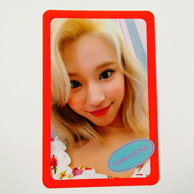 TWICE 7th Mini album Fancy You Photocard Photo Card - Chaeyoung + Gift+Tracking