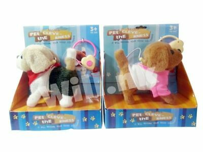 cute little walking puppy remote control bark dog with rope kids toy Xmas gift
