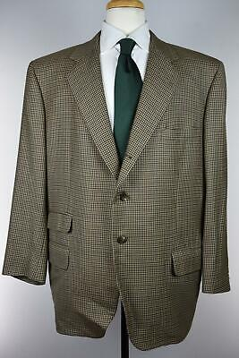 Tom James Executive Collection Handmade Mens Sportcoat Blazer 46 R Moth Damage