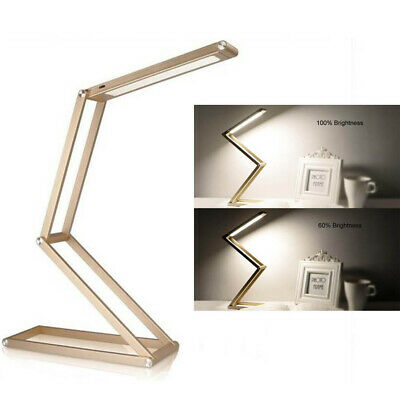 LED Lamp,Dimmable Portable Table Lamp, Eye-Care,Aluminum Alloy Foldable Lamp