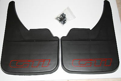 Peugeot 205 Gti 1.6  Mud Flaps Front Or Rear Red.