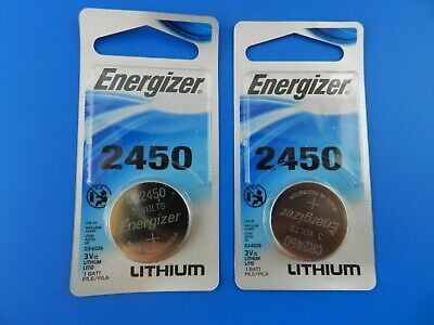 Energizer  CR2450 Lithium 3V  Watch Batteries Cell, 2 Pcs