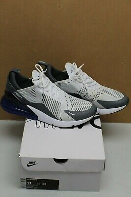 new arrival 1c781 db42c NIKE AIR MAX 270 Persian Violet Purple White Grey Size 11 AH8050-107  Pre-Owned