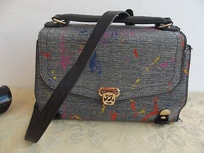 c1cd80baf6 Le Pandorine Numeroventidue 22 Borsa Bag Bauletto Tracolla Turtle Medium