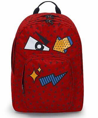 234b072c1a ZAINO INVICTA - DIAL PACK FACE - Fiesta Red Rosso - tasca porta pc padded -