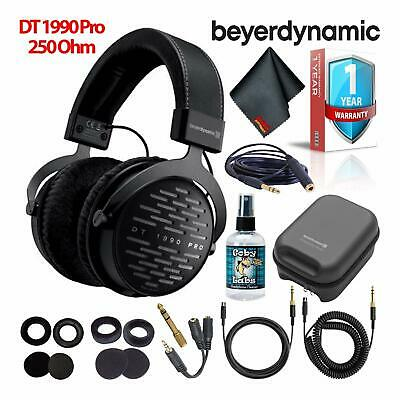 Beyerdynamic DT 1990 Pro 250 Ohm Headphones Bundle