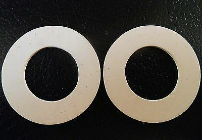 One Pair Of New Replacement Rubber Seals For Hornsea Salt Pepper Spice Jars