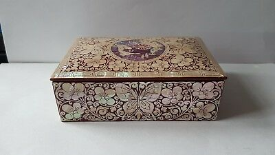 Oriental mother of pearl inlay box