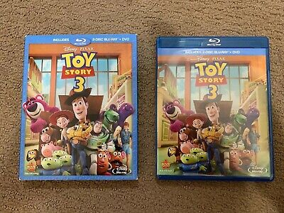 Toy Story 3 (Blu-ray and DVD) Disney / Pixar - rare Slipcover Included