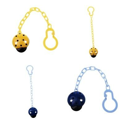 2Packs of Baby Girls/Boys Dummy Pacifier Nipple Chain Clip Toy Animal Chain