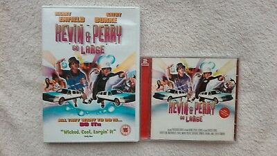 Kevin & Perry - Go Large Original Movie Soundtrack 2 Cd + Dvd Rare Gc Fast Post