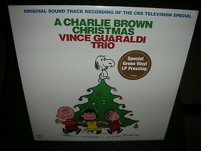 Charlie Brown Christmas *BRAND NEW GREEN COLORED RECORD LP VINYL  Vince Guaraldi