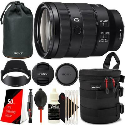 Sony FE 24-105mm f/4 G OSS Lens + Top Cleaning Accessory Kit