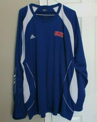 3f1801f2a Great Men's Adidas ClimaCool SMU Athletic Shirt Jersey Size 3XL Three  Stripes