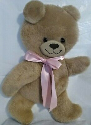 """Teddy Bear Cloth Fabric Wall Hanging Plush 20"""" Long 12"""" Wide 1/3"""" Thick"""