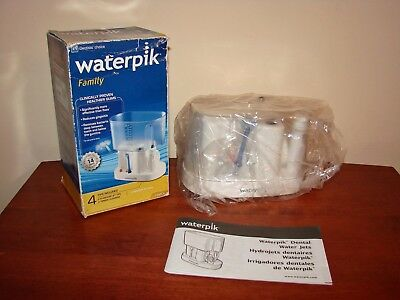 WATERPIK Family Dental Teeth Cleaning System Flosser WP-70W - NEW in Open Box