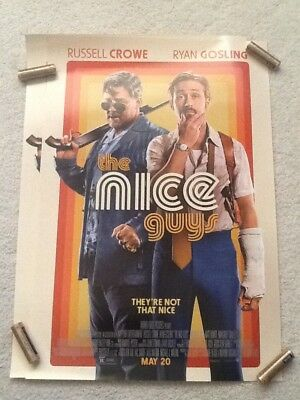The Nice Guys Russell Crowe Ryan Gosling  Mini Movie Poster 11x17 New