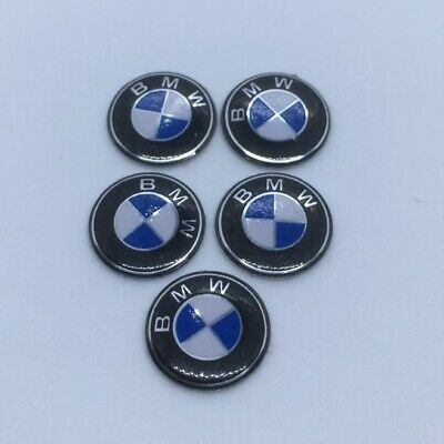 4 x 11mm BMW Replacement Key Fob Badge Sticker