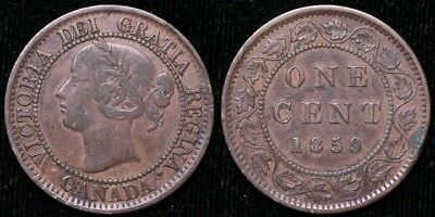 Canada 1859  Large Cent