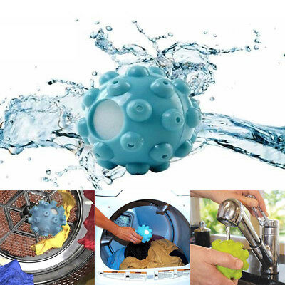 2pc Wrinkle Remover Laundry Ball Releasing Steam Dryer Balls Fabric Softening
