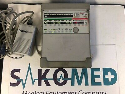 Used CareFusion Pulmonetics LTV 1000 Medical Ventilator With Accessories