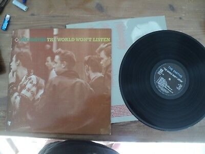 THE SMITHS / THE WORLD WON'T LISTEN (1986) LP classic PANIC, ASK, LONDON !!!!!!