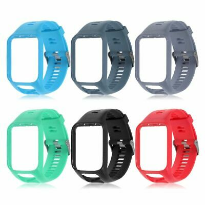 Tomtom Spark + Runner 2 + 3 Replacement Silicone Watch Straps Band Top