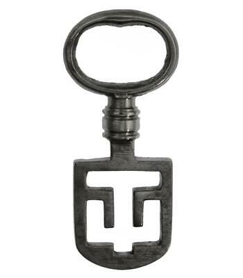 "Antique ODELL Latch Key 2⅜"" - Edinburgh Tenement - ref.k113"