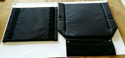 Wheelchair Seat Cushion & Back Rest Set Spare Part Replacement Excel Accessories