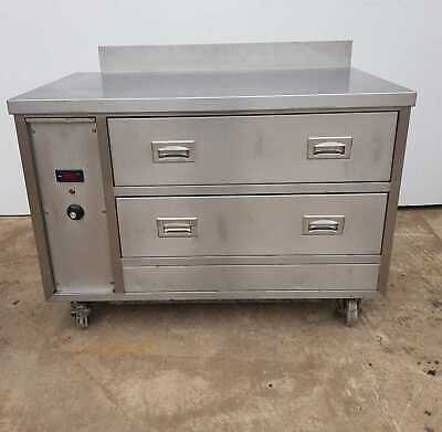 VICTOR 2 Drawer Heated Holding Unit / Commercial Catering Hot Cupboard