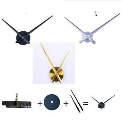 Restaurant Large Silent Wall Clock Quartz Movement Mechanism Hand DIY Repair