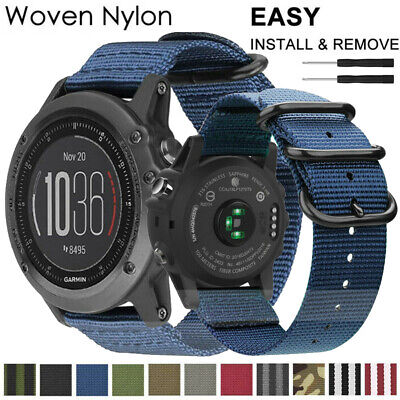 Sport Nylon Armband Für Garmin Fenix 3/ 5 5X/ 5S Plus/ Forerunner 935 Watch Band