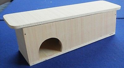Frog toad newt wild creature shelter box self assembly DIY kit form garden house