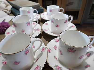 H M Williamson & Sons Heathcote China cup and saucers