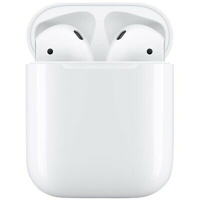 Apple AirPods 2 Generation In-Ear Headset white + Ladecase Bluetooth WOW!