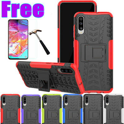 For Samsung Galaxy A20/30 A50 A70 Heavy Duty Shockproof Rugged Bumper Cover Case