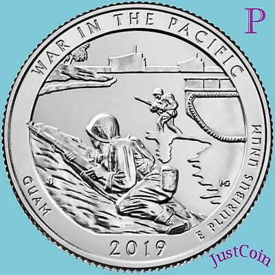 2019-P War In Pacific (Guam) National Park Uncirculated Quarter