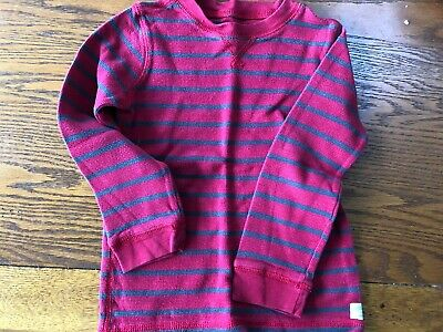 Carter's 5T Thermal Shirt red /black