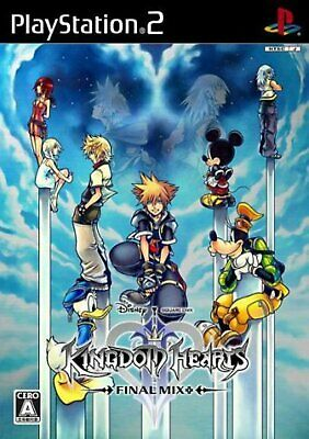 PS2 Kingdom Hearts II 2 Final Mix best with Tracking# New Japan