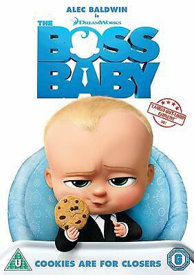 Boss Baby - A Hilarious Family Friendly CG Animated Film! -Bluray Disc & UV Only