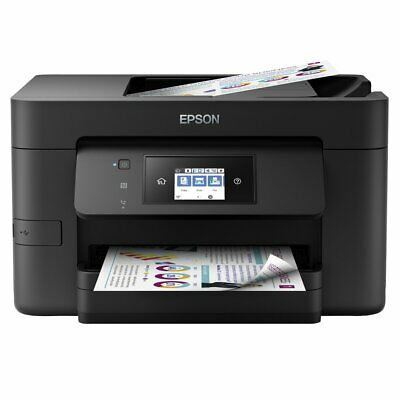 Epson WF-4725 Wireless All in One Printer With Ink Scanner Copier Fax Wi-Fi Wifi
