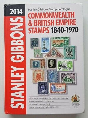 2014 Stanley Gibbons Commonwealth & British Empire Part 1 Stamp Catalogue.
