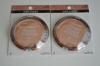 Lot of 2 Wet n Wild Coloricon Bronzer 739 Ticket To Brazil/Depart Pour Le Bresil