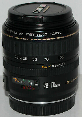 Canon EF 28-105mm f/3.5-4.5 USM Macro lens (made in Japan) excellent condition