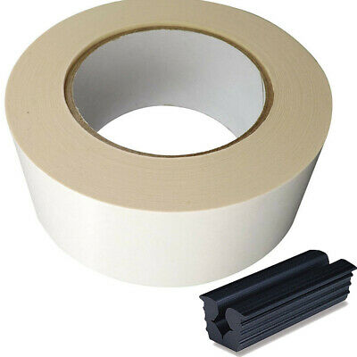 2' Roll of Golf GRIP TAPE 36YD+ Rubber Vice Clamp Combo