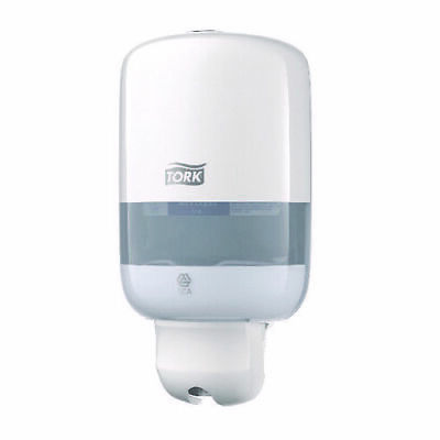 Tork White Liquid Soap Dispenser 561000, BATHROOM,KITCHEN,RESTROOM,FACTORY
