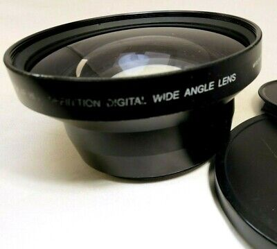 Tokina 0.5x Wide Angle 72mm Conversion Lens AUX Digital High Definition PD170