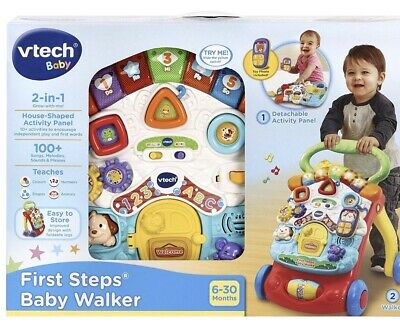 VTech Baby 2-in-1 First Steps Baby Walker (8061763) Toy New