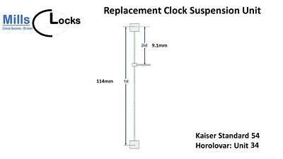 Kaiser Standard 54 (Unit 34) Horolovar Anniversary Clock 400 Day Suspension Unit